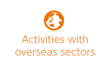 Activities with overseas sectors